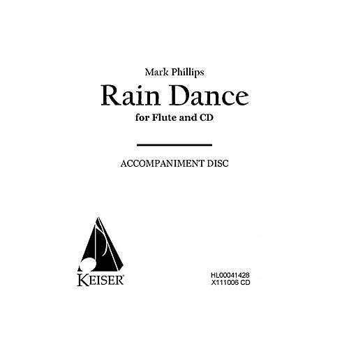 Lauren Keiser Music Publishing Rain Dance (CD Accompaniment) LKM Music Series Composed by Mark Phillips