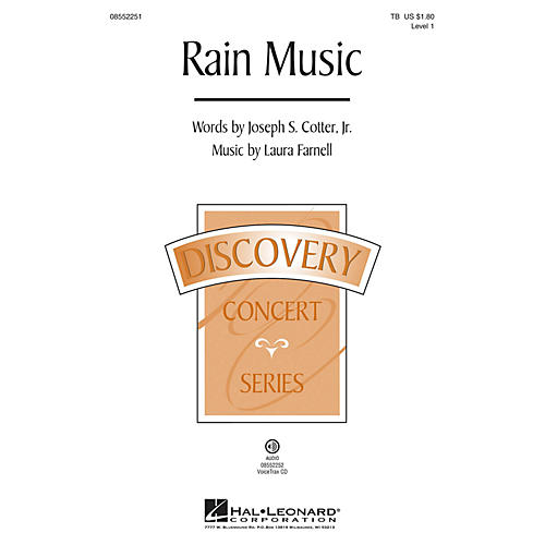 Hal Leonard Rain Music (Discovery Level 1) TB composed by Laura Farnell
