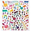 AIM Rainbow Musical Note Stickers thumbnail