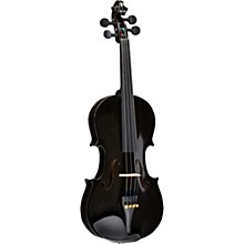 Rainbow Series Black Violin Outfit 1/2 Size