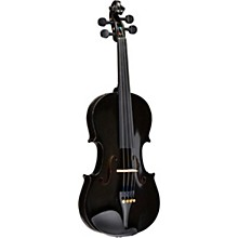 Rainbow Series Black Violin Outfit 3/4 Size