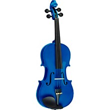 Rainbow Series Blue Violin Outfit 1/4 Size