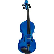 Rainbow Series Blue Violin Outfit 3/4 Size