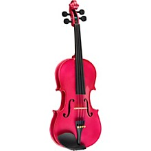 Rainbow Series Rose Violin Outfit 1/4 Size