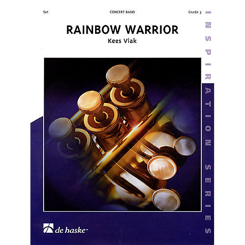 De Haske Music Rainbow Warrior Concert Band Level 3 Composed by Kees Vlak