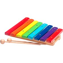 Stagg Rainbow Xylophone, 8 Keys, C-C