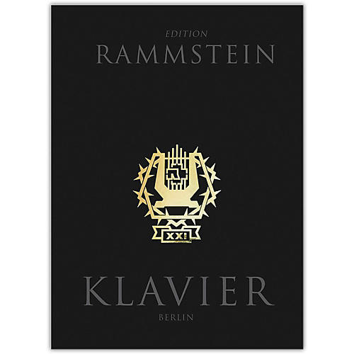 Music Sales Rammstein - Klavier Piano/Vocal/Guitar Artist Songbook Hardcover with CD