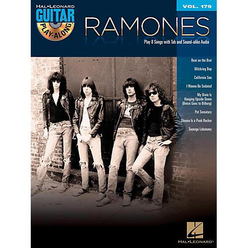 Hal Leonard Ramones - Guitar Play-Along Vol. 179 Book/CD