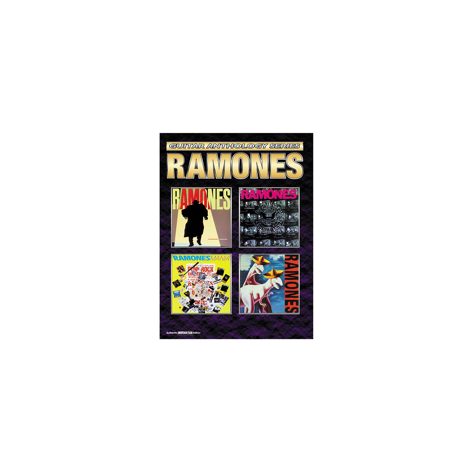 Alfred Ramones Anthology Series Guitar Tab Book