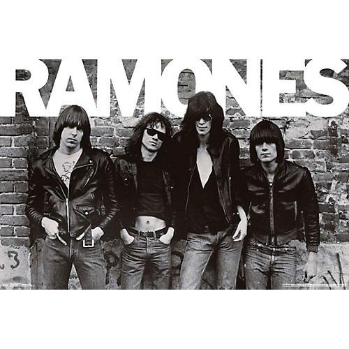 Trends International Ramones Group Poster Rolled Unframed