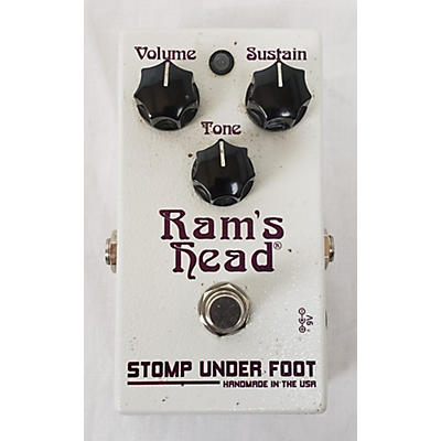 Stomp Under Foot Rams Head Effect Pedal