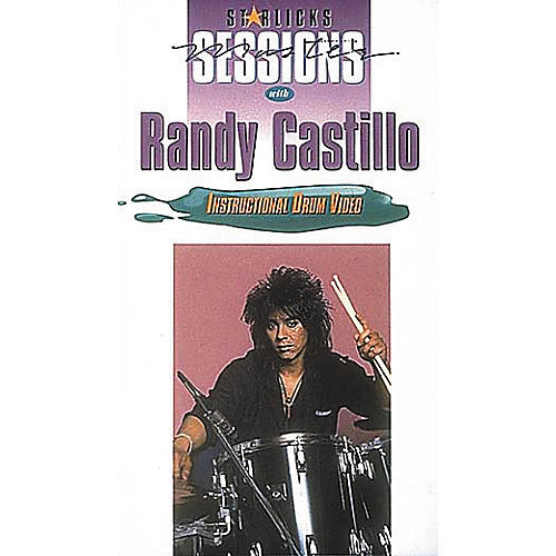 Hal Leonard Randy Castillo VHS Video