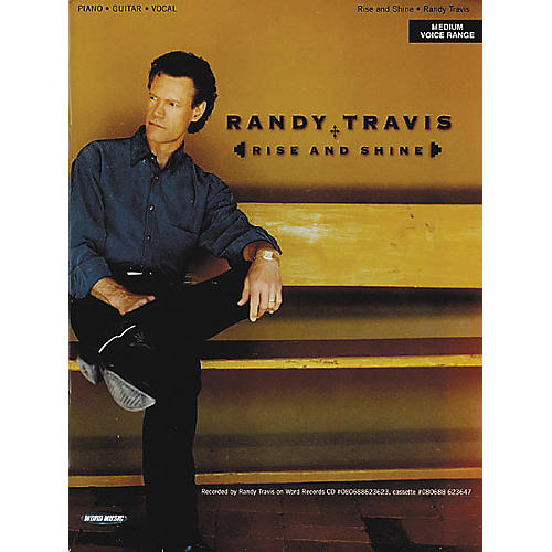 Word Music Randy Travis - Rise and Shine Book