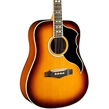 Ranger VI Vintage Reissue Dreadnought Acoustic-Electric Guitar Honey Burst