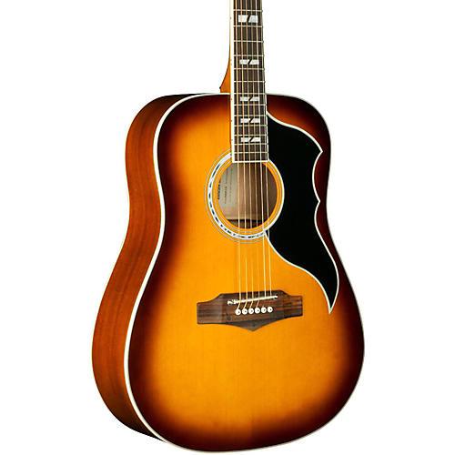 EKO Ranger VI Vintage Reissue Dreadnought Acoustic Guitar Honey Burst