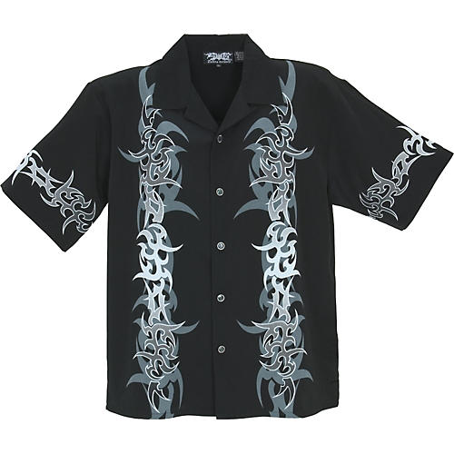 Dragonfly Clothing Rapture Tribal Design Woven Shirt