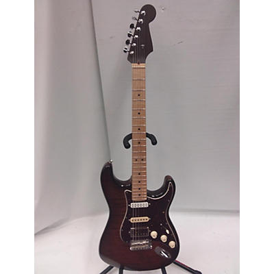 Fender Rarities Collection Flame Maple Top Stratocaster Solid Body Electric Guitar