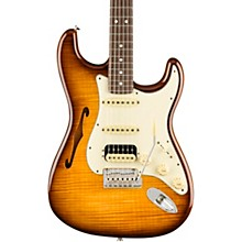 fender rarities collection stratocaster thinline hss rosewood neck electric  guitar
