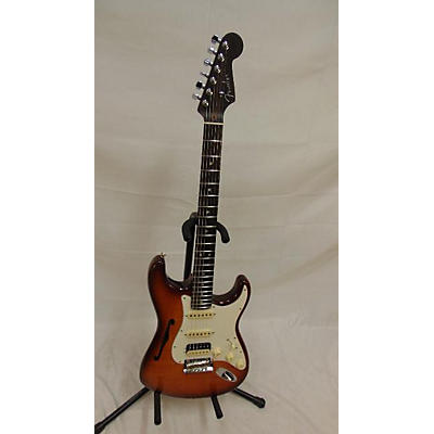Fender Rarities Collection Thinline Stratocaster HSS Hollow Body Electric Guitar