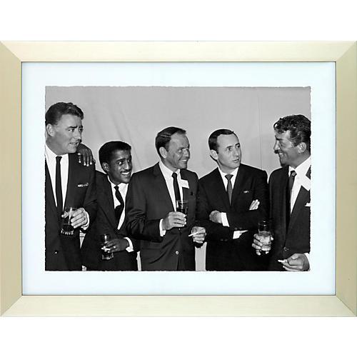 Hulton Archive Rat Pack Framed Photo Print