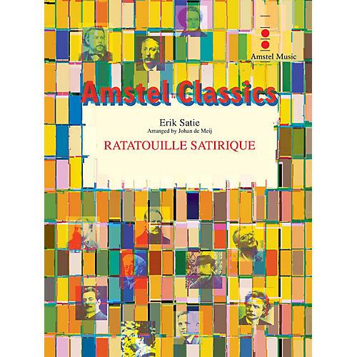 Amstel Music Ratatouille Satirique (Score and Parts) Concert Band Level 3 Arranged by Johan de Meij