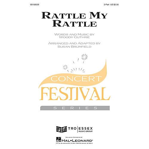 Hal Leonard Rattle My Rattle 2-Part arranged by Susan Brumfield