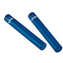 Rattle Stick Pairs Blue 7 in.