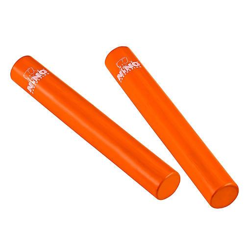 Nino Rattle Stick Pairs Orange 7 in.