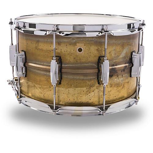Ludwig Raw Brass Snare Drum