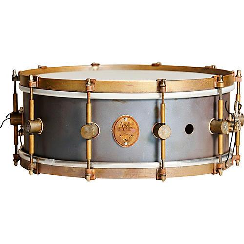 A&F Drum Co Raw Copper Snare 14 x 5.5 in.