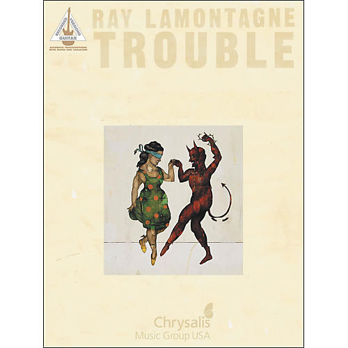 Hal Leonard Ray Lamontagne Trouble Tab Book