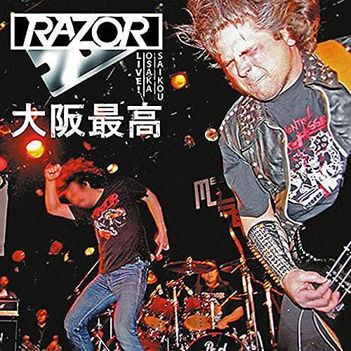 Alliance Razor - Osaka Saikou: Live In Japan (Blood Red Vinyl)