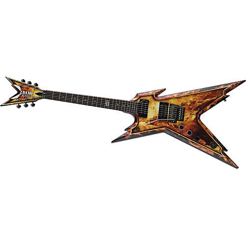 Dean Razorback Lefty Explosion Electric Guitar
