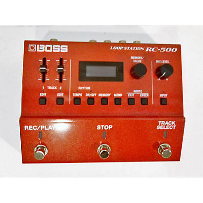 Boss Rc-500 Pedal
