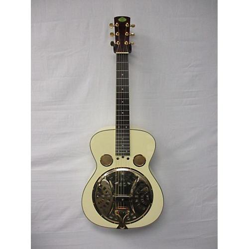 Regal Rd Square Neck Resonator Resonator Guitar Alpine White