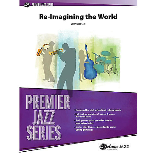 Alfred Re-Imagining the World Jazz Band Grade 4 Set