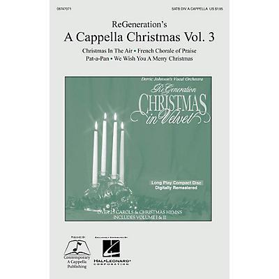 Hal Leonard ReGeneration's A Cappella Christmas Vol. 3 SATB DV A Cappella