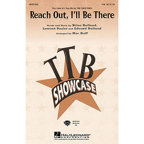 Hal Leonard Reach Out, I'll Be There ShowTrax CD by The Four Tops Arranged by Mac Huff