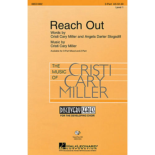 Hal Leonard Reach Out VoiceTrax CD Composed by Cristi Cary Miller