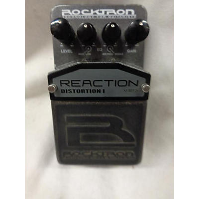Rocktron Reaction Distortion I Effect Pedal