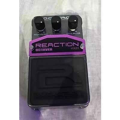 Rocktron Reaction Octaver Effect Pedal