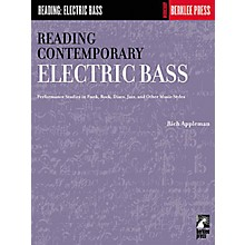 Hal Leonard Reading Contemporary Electric Bass Book