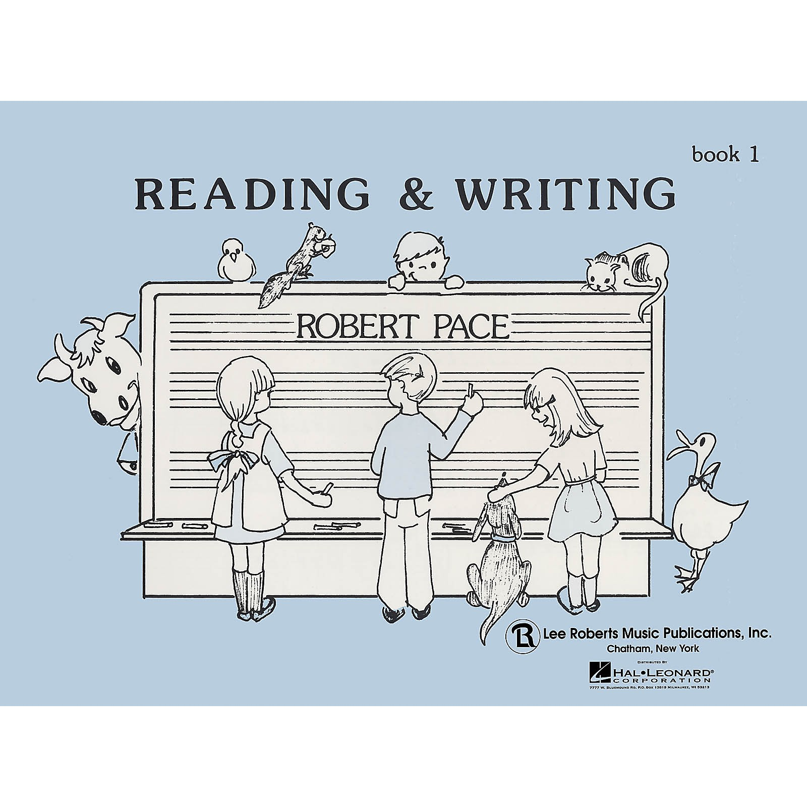 Lee Roberts Reading & Writing - Book 1 Pace Piano Education Series Softcover Written by Robert Pace