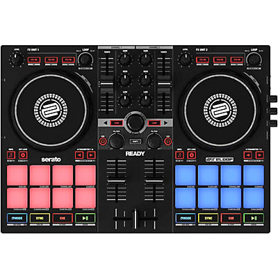Reloop Ready Portable Performance DJ Controller for Serato
