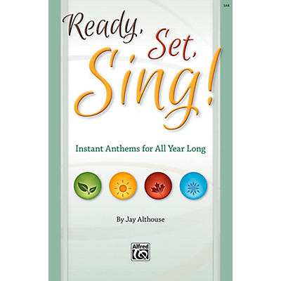 Alfred Ready, Set, Sing! - SAB Choral Book