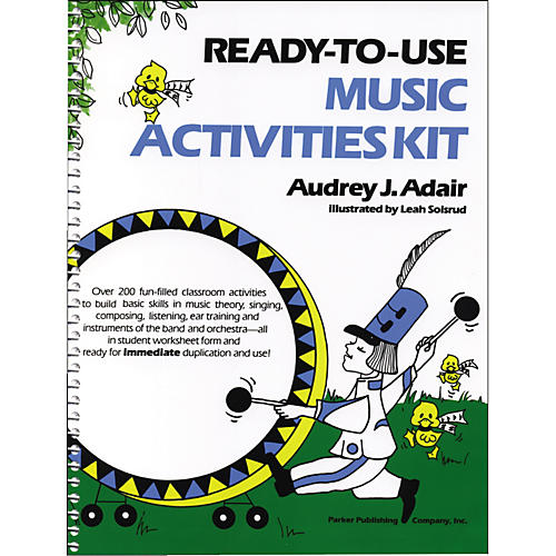 Pearson Education Ready To Use Music Activities Kit