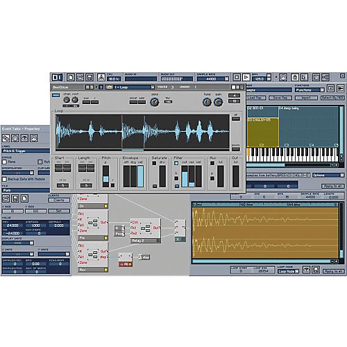 Native Instruments Reaktor 4 Modular Software Sound Studio
