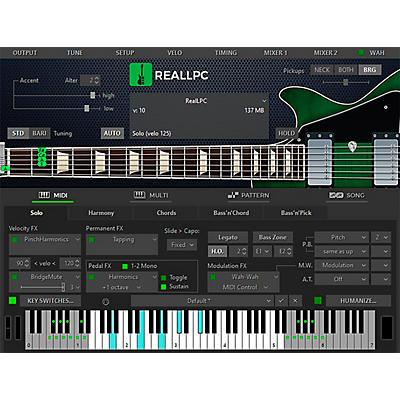 MusicLab RealLPC 5 Les Paul Custom Virtual Guitar (Download)