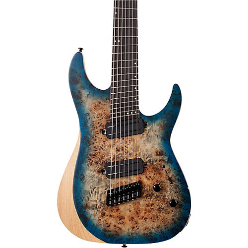 Schecter Guitar Research Reaper-7 MS 7-String Multiscale Electric Guitar Sky Burst