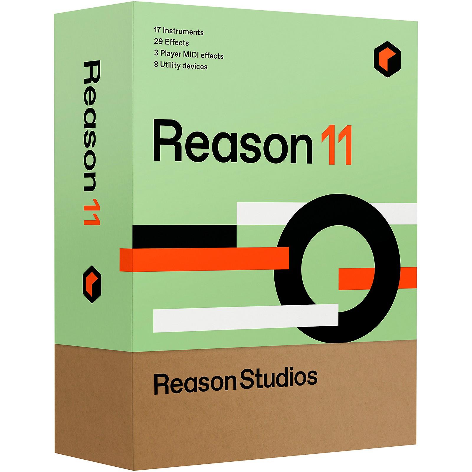 Reason Studios Reason 11 EDU 5-User Network Multi-License (Boxed)